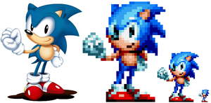 Sonic Mania Pose Test by DOA687