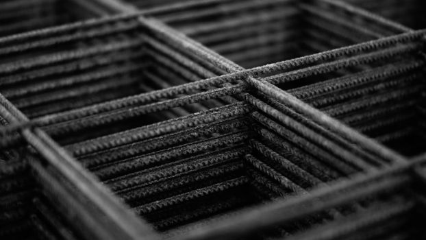 Black And White Rebar by NovaFlux
