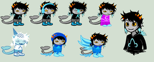 Shaiko Sprites for DarkSkyBlue by SavannaEGoth