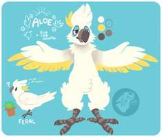 Aloe temporary ref by californiacoyote