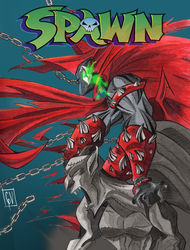 Spawn artweek by cerogeezer
