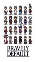 Bravely Default by FrootsyCollins