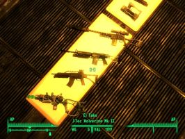 MY Fallout 3 guns by Sandwich-Anomaly