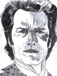 Clint Eastwood by LOrdalie