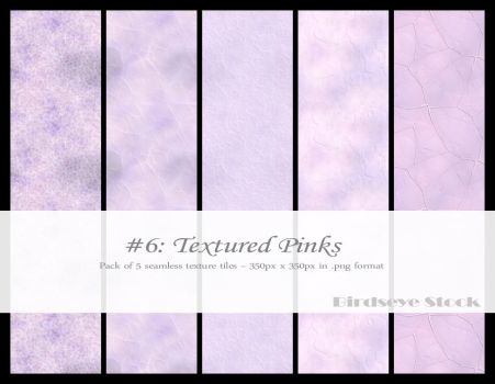 Textured Pinks by BirdseyeStock