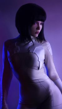 Motoko Kusanagi - Ghost in the Shell by IraNyaaasha