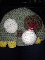 Child's Zombie Hat by For-The-Darkspear