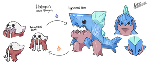 Fakemon Brainstorm #4 Saltiest Fakemon! by EventHorizontal
