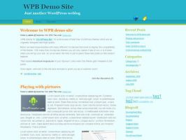 Serenity Oceans: Free WP theme by myst729