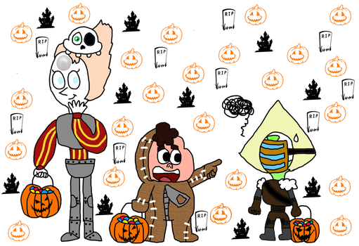 8 day before Halloween- Steven Universe (Day 3) by Princess-Sackboy3659