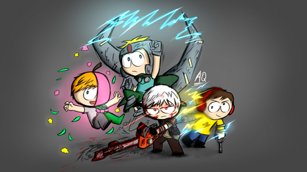DLC Team by aq1218
