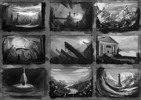 Environment Thumbnails 13 by GodZmc