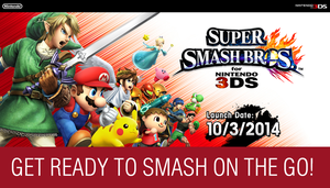 Super Smash Bros. For Nintendo 3DS Wallpaper by TheWolfBunny