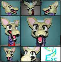 Gearbox the Coyote - Foam Base by Eternalskyy