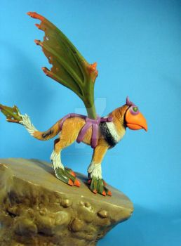 Griffin Mountain by LabMonkeyNumber9