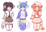 random adopts OPEN by viixens