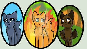 ThunderClan by Bindiluckycat