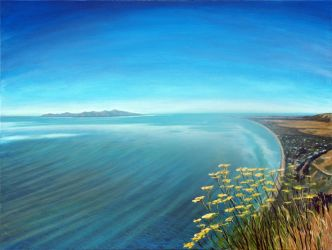 Fennel Flowers on Paekakariki Hill View, NZ by karlandrews