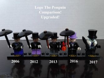 Lego The Penguin Comparisons Upgraded! by lol20