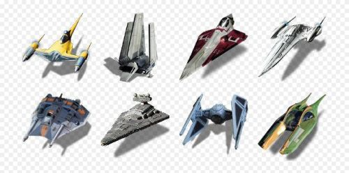 SW Starships by titanpsp