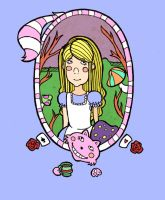 Alice in wonderland cover by beespit
