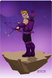 Hawkeye (Clint Barton) by gnome-oo