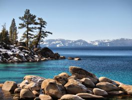 East Shore Morning, Lake Tahoe by MartinGollery