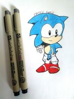 Fanart #1- Classic sonic by Gengargamer64