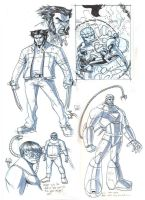 SPEC SPIDEY UK 186 CONCEPTS by deemonproductions