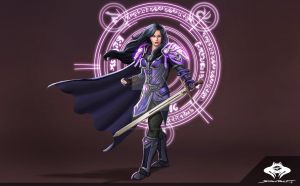 ...Commission: Human Mage... by ShadowPriest