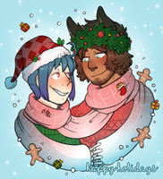 Sola Xmas 2016 by DarkChibiShadow