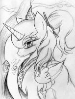 Princess Of The Moon by thelunarmoon