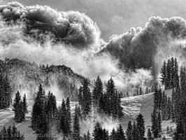 BW storm by MartinGollery