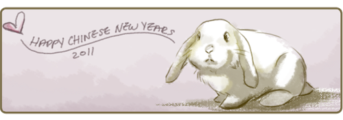 Happy New Years to you bunnies by chanimated