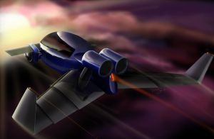 Flying Car part 2 by reedesigner