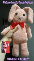 Norway's bunny plushie patterns by BlackLadySango