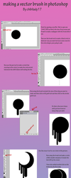 Vector Brush Tutorial by chibilady17