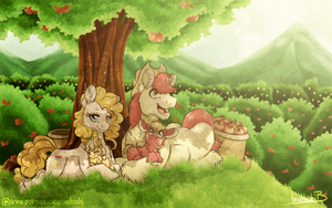 Our Life Under the Apple Trees by InuHoshi-to-DarkPen