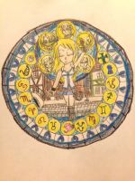 Lucy's Stain Glass Window by Camilia-Chan