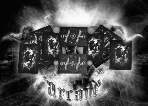 Bicycle Arcane black deck by boombona