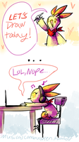 Let's draw! by MusicalCombusken