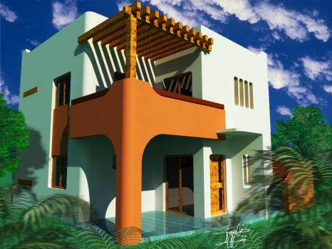 Bungalow in Morocco ... by MsAlsA3