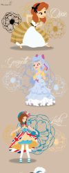 No-Disney and Disney Princess Young ~ Dogs 2 by miss-lollyx-33