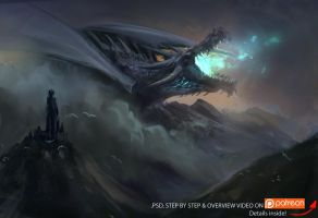 Ancalagon the Black by JordyLakiere