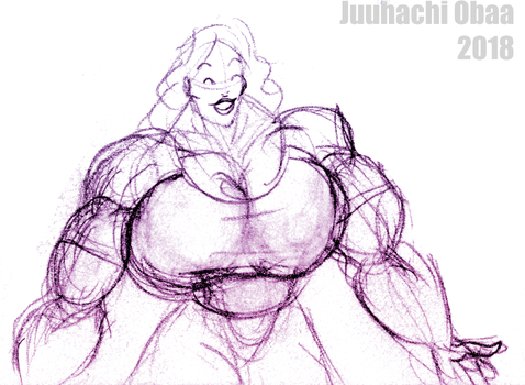 Rough - Muscle Chick 3 by Juuhachi-Obaa