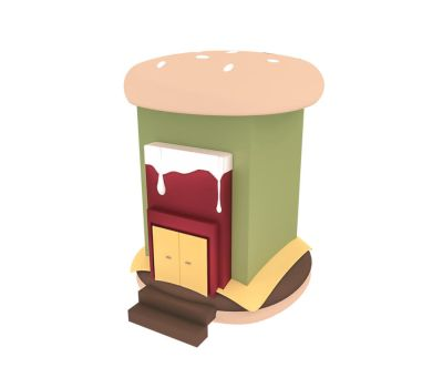 Burger Shop by DISC0MB0BULATED
