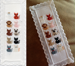 Cats Halloween Bookmark by pinkythepink