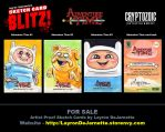 Adventure Time Sketch Cards (SOLD OUT) by DeJarnette