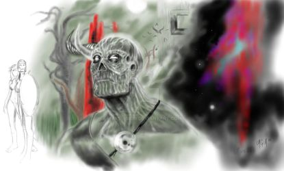 Zombie me by MARSVISION