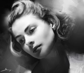 Ingrid Bergman by Ron-faure
